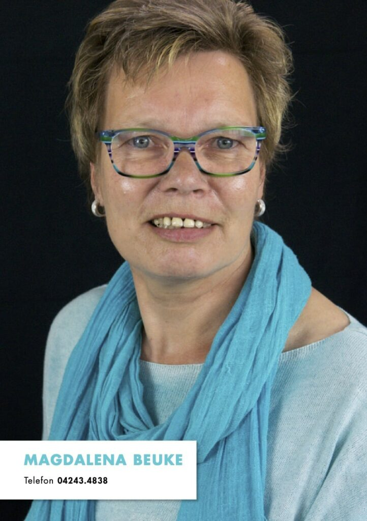 Sedcard Magdalena Beuke