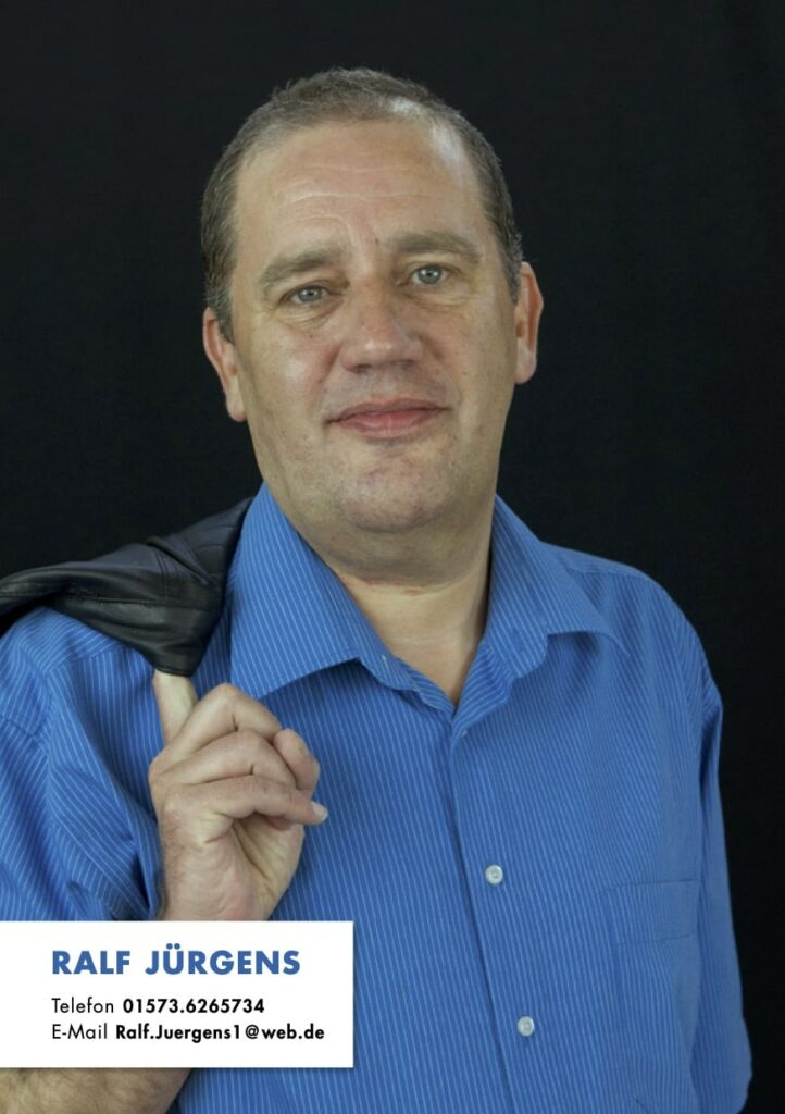 Sedcard Ralf Jürgens