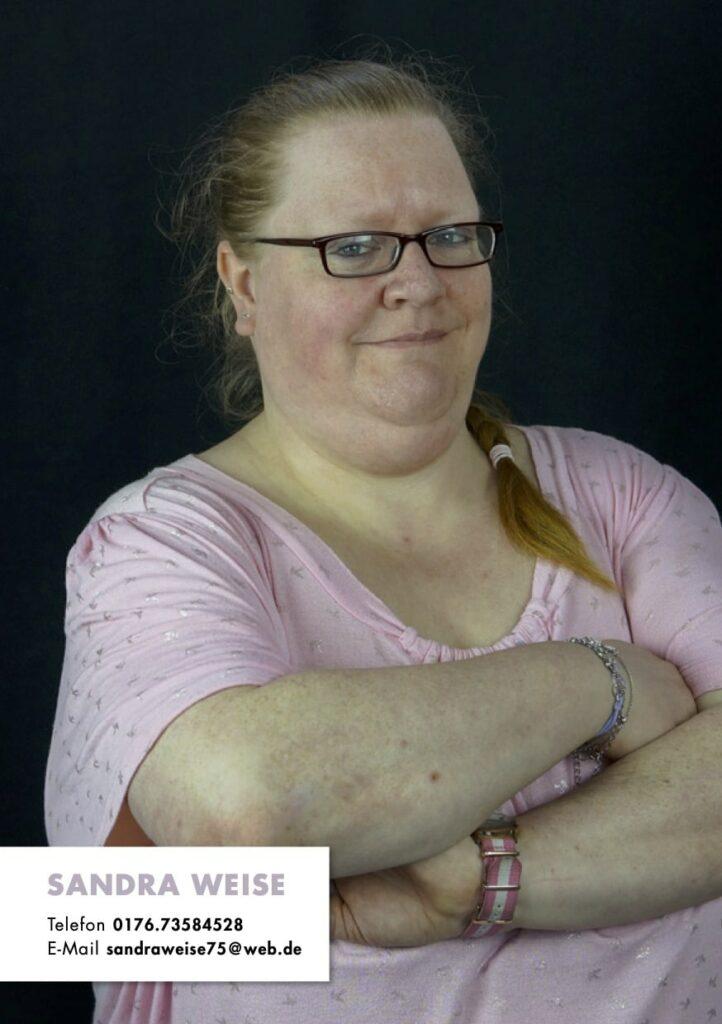 Sedcard Sandra Weise