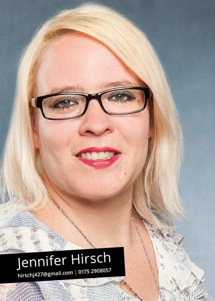 Sedcard Jennifer Hirsch