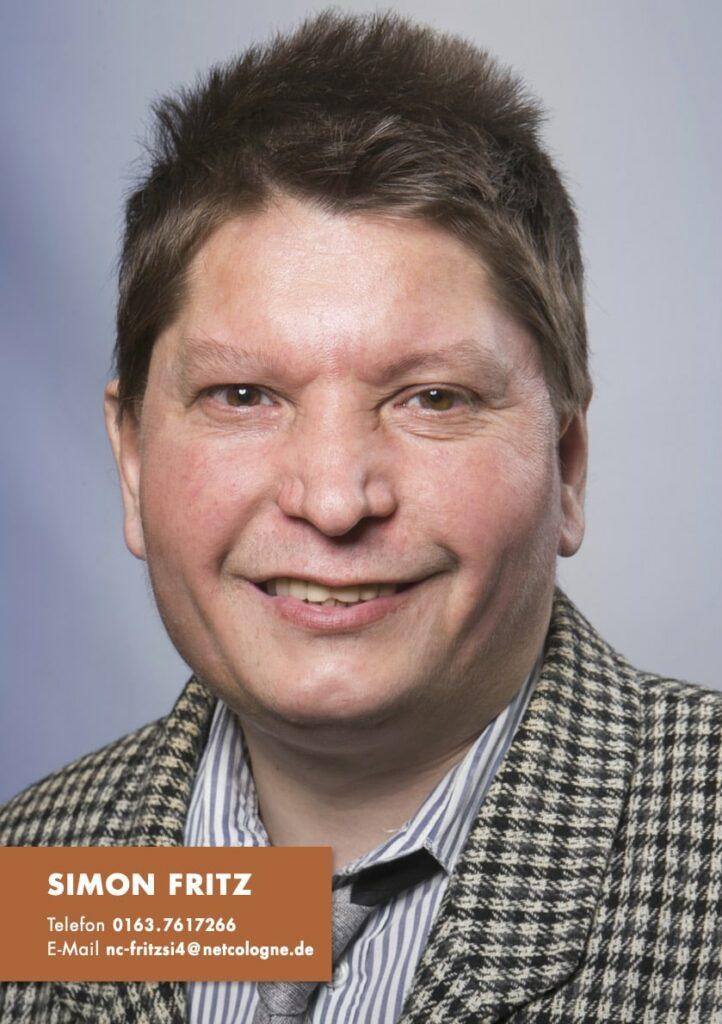 Sedcard Simon Fritz