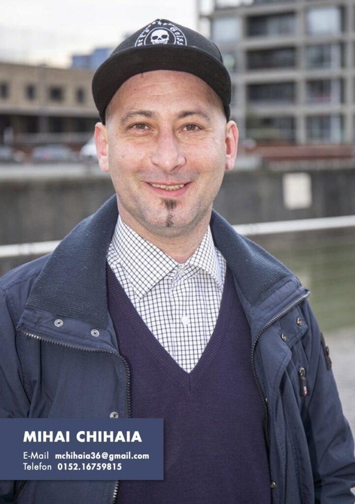 Sedcard Mihai Chihaia